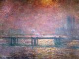 The Thames at Charing Cross, 1903 Giclee-trykk av Claude Monet
