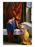 Anunciación Lámina giclée por Orazio Gentileschi