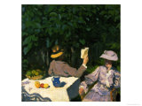 Sunny Morning, 1905 Giclée-tryk af Karoly Ferenczy