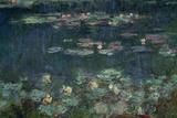 Waterlilies: Green Reflections, 1914-18 (Right Section) Giclée-Druck von Claude Monet