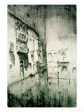 Nocturne: Palaces Reproduction procédé giclée par James Abbott McNeill Whistler