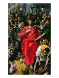 The Disrobing of Christ, 1577-79 Giclée-tryk af  El Greco