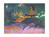 Fatata Te Miti (By the Sea) 1892 Giclee Print by Paul Gauguin