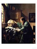 天文学者 1668年 ジクレープリント : ヨハネス・フェルメール
