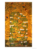 Sketch for the Stoclet Frieze (detail) Giclée-tryk af Gustav Klimt