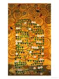 Sketch for the Stoclet Frieze (detail) Giclée-Druck von Gustav Klimt