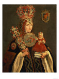 Sister Juana, Grand Daughter of D. De Cortes, Founder of the Convent of St. Jerome, circa 1661 Giclée-vedos