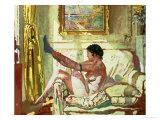Sunlight Gicléetryck av Sir William Orpen