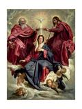 Coronation of the Virgin, circa 1641-42 Giclée-vedos tekijänä Diego Velazquez