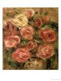 Flowers, 1913-19 Giclée-Druck von Pierre-Auguste Renoir