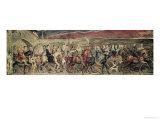 Chaucer's Canterbury Pilgrims, Engraved and Pub. by the Artist, 1810 Lámina giclée por William Blake