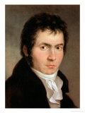 Ludwig Van Beethoven (1770-1827), 1804 Giclee Print by Willibrord Joseph Mahler