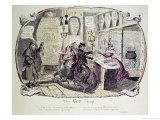 The Gin Shop, 1829 Lámina giclée por George Cruikshank