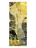 Vattenormar I, ca 1907 Gicléetryck av Gustav Klimt