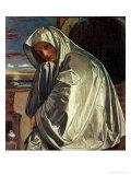 St. Mary Magdalene Approaching the Sepulchre Giclée-tryk af Giovanni Girolamo Savoldo