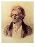 Ludwig Van Beethoven (1770-1827), 1824 Giclee Print by Johann Stephan Decker
