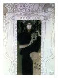 Tragedy, 1897 Gicléedruk van Gustav Klimt