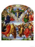 The Landauer Altarpiece, All Saints Day, 1511 Giclée-vedos tekijänä Albrecht Dürer