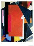 Painterly Architectonics, 1916-17 Giclee-trykk av Liubov Sergeevna Popova