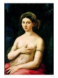 La Fornarina, circa 1516 Reproduction procédé giclée par  Raphael