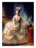 Marie Antoinette (1755-93) Queen of France, 1779 Reproduction procédé giclée par Elisabeth Louise Vigee-LeBrun