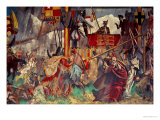 Signing of the Magna Carta, 1215 Giclée-tryk af Charles Sims