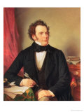 Franz Peter Schubert (1797-1828) Giclee Print by Wilhelm August Rieder