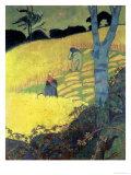 Harvest Scene Gicléetryck av Paul Serusier