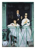 The Balcony, 1868-9 Giclee Print by Edouard Manet