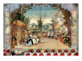 "Joseph Haydn (1732-1809) at the First Performance of His Opera ""L'Incontro Improvviso"" Giclee Print"