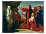 The Raising of Lazarus, 1857 Giclée-vedos tekijänä Leon Joseph Florentin Bonnat