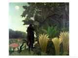 The Snake Charmer, 1907 (La Charmeuse Des Serpents) Giclée-Druck von Henri Rousseau