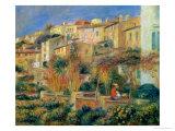 Terrace in Cagnes, 1905 Lámina giclée por Pierre-Auguste Renoir
