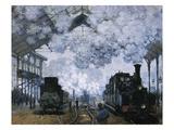 Gare Saint-Lazare Giclee Print by Claude Monet