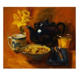 Breakfast at Debby's Giclee Print by Pam Ingalls