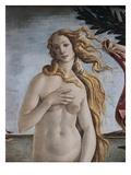Detail of Birth of Venus Reproduction procédé giclée par Sandro Botticelli