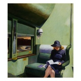 Compartment C, Car 293 Gicléedruk van Edward Hopper