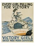 Every Girl Pulling for Victory Lámina giclée por Penfield, Edward