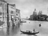 Gran canal en Venecia Lámina fotográfica