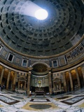 Interior of Pantheon Photographic Print by Bill Ross