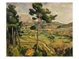 Mont Sainte-Victoire Giclee Print by Paul Cézanne
