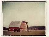 Red Barn Photographic Print by Jennifer Kennard
