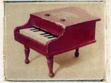 Red Piano by Jennifer Kennard Photographic Print by Jennifer Kennard