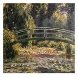 Die japanische Brücke in Giverny, Monet Giclée-Druck von Claude Monet