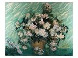 Roser Giclée-tryk af Vincent van Gogh
