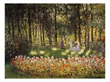 Wooded Scene Giclée-Druck von Claude Monet