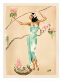 Magnolia Giclee-trykk av  Gill