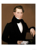 Captain Cox, circa 1836 ジクレープリント : アミ・フィリップス