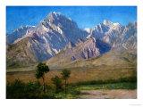 Camp Independence, Colorado, 1873 Giclée-Druck von Albert Bierstadt