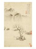Boating on a River in Spring, 1561 Giclée-tryk af Ju Jie